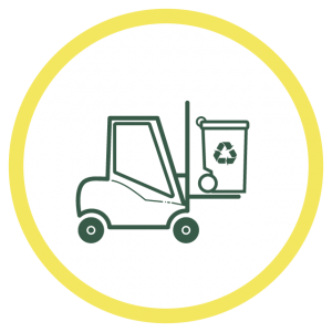 Icon Abfalllogistik